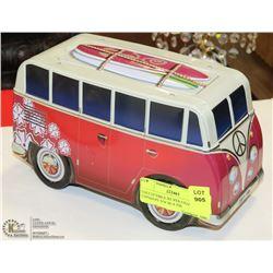 COLLECTIBLE SILVER CRANE COPMANY VW BUS TIN