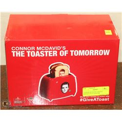 CONNOR MCDAVID LIMITED EDITION FACE TOASTER