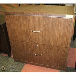 "2 DRAWER FILE CABINET 20""X30""X29""H"