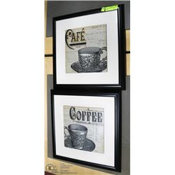 CAFE AND COFFEE PICTURES IN FRAMES