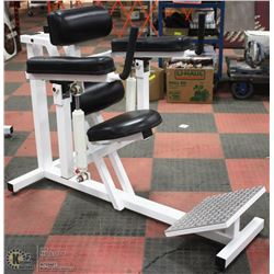 HYDRAULIC ABDOMINAL/LOWBACK EXERCISE UNIT WITH