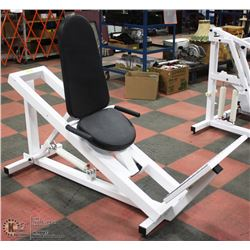 HYDRAULIC LEG PRESS EXERCISE UNIT WITH