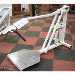 HYDRAULIC UPRIGHT ROW/TRICEP EXERCISE UNIT WITH