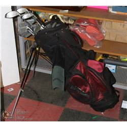 COMPLETE SET OF GOLF CLUBS - 11-PC, LEFT
