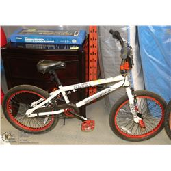 SUPERCYCLE FRACTURE BMX  WITH LEATHER SEAT