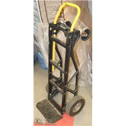 BLACK AND YELLOW 2 WHEEL DOLLY