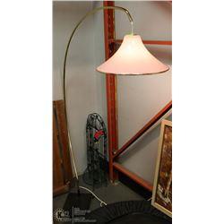 MID CENTURY 1970S ARC STYLE FLOOR LAMP