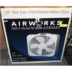 AIRWORKS BOX FAN 20""