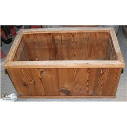"RECTANGULAR CEDAR PLANTER -  22""L X 12""W X 10""D"