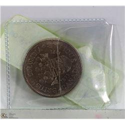 BC CENTENNIAL $1 DOLLAR COIN