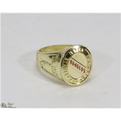 STANLEY CUP NEW YORK RANGERS REPLICA RING