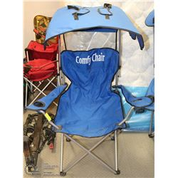 CANOPY CAMP CHAIR - QUALITY CAMP CHAIR