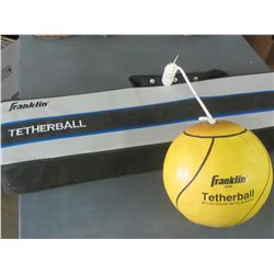 1 New Franklin Tetherball set with pole & ball