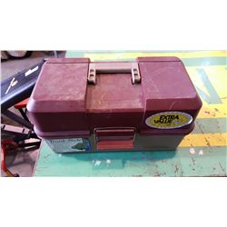 WOODSTREAM TACKLE BOX WITH CONTENTS