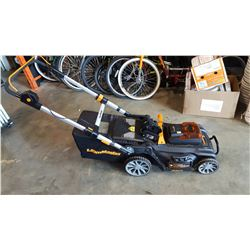 LAWNMASTER ELECTRIC LAWNMOWER WITH CHARGER