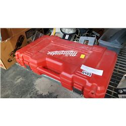 18V MILWAUKEE CORDLESS DRILL WITH BATTERY AND CHARGER