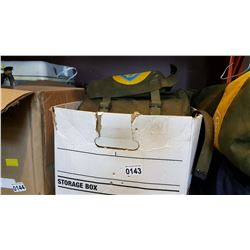 FIRST AID KIT AND TOOL BELTS