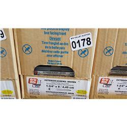 CASE OF 1 3/4 INCH EXTERIOR SCREWS 20 X 100 PCS