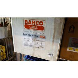 BOX OF BANDSAW BLADES