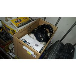 BOX OF NEW AND USED SOFTBALLS