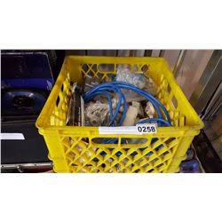 CRATE OF ELECTRICAL MISC