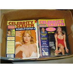 BOX OF ADULT MAGAZINES