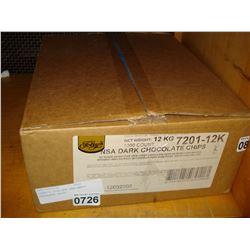 FOLEYS 25LB BOX SEMISWEET CHOCOLATE CHIPS
