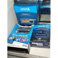 LOT OF SIRIUS DEVICES