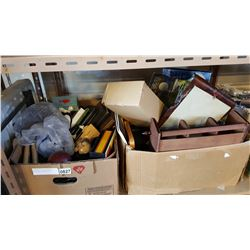 TWO BOXES OF VARIOUS ESTATE GOODS AND COLLECTIBLES