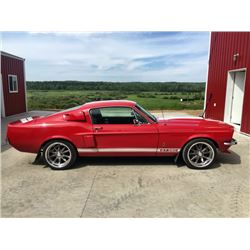 2:00PM SATURDAY FEATURE 1967 SHELBY GT 350 FASTBACK CUSTOM