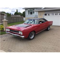 1:30 PM SATURDAY FEATURE 1968 PLYMOUTH GTX 440 SIX PACK