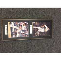 FRAMED NY YANKEE PICTURE FEATURING PHIL HUGHES AND A.J. BURNETT