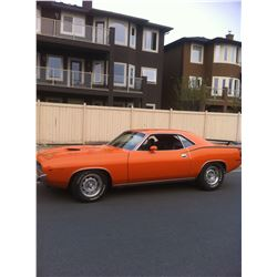 1970 PLYMOUTH BARRACUDA 340 6 PACK