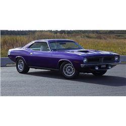 1970 PLYMOUTH CUDA 440 6 PACK V CODE