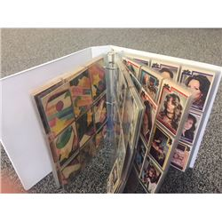 1977 CHARLIES ANGELS NEAR COMPLETE SET OF CARDS