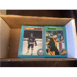 1979 NHL O-PEE-CHEE BOX OF HOCKEY CARDS