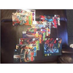 SPAWN COMICS COLLECTION. FEATURING THE SPAWN BATMAN COMIC