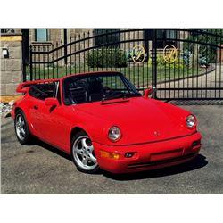 1983 PORSCHE 911 CABRIOLET ONLY 69900 ORIGINAL KMS