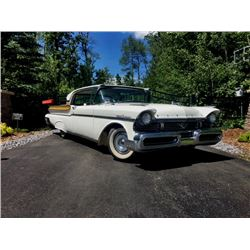 1957 MERCURY TURNPIKE CRUISER RARE CANADA ONLY MODEL 91000 ACTUAL MILES