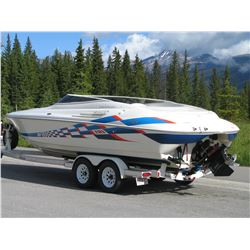 1997 CAMPION CHASE 800 27FT 502 FUEL INJECTION SHOW BOAT