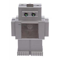 MCM Silver Roboter Series Clutch Handbag