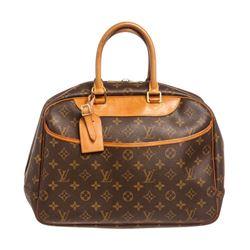 Louis Vuitton Monogram Canvas Leather Deauville Doctor Bag