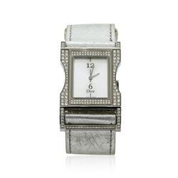 Christian Dior Diamond Wristwatch - Stainless Steel