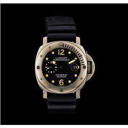 Luminor Panerai Submersible Firenze Titanium Watch