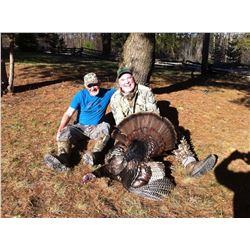 Eastern Turkey Hunt for 2  Hunters in Southern Ontario