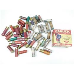 ASSORTED 12 GA ANTIQUE & REGULAR AMMO