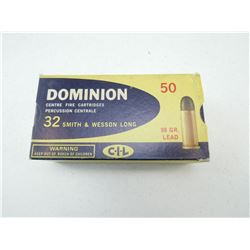 DOMINION 32 S&W LONG AMMO