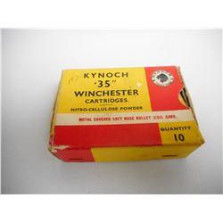 KYNOCH 35 WINCHESTER AMMO