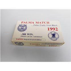 PALMA MATCH 308 WIN 1992 EDITION AMMO
