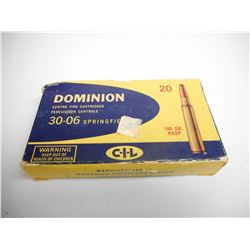 DOMINION 30-06 AMMO